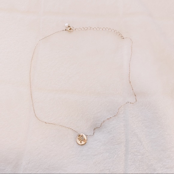 Forever 21 Jewelry - Rose Gold Scorpio Necklace